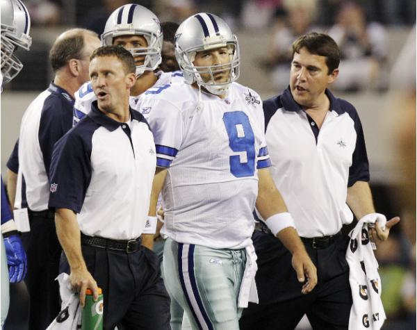 Tony Romo (AP Photo/LM Otero)