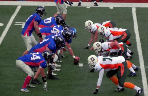 Giants Bolzano vs Dolphins Ancona IFL