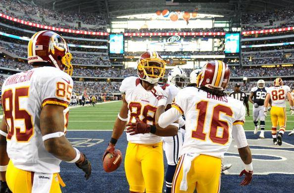 Washington Redskins Dallas Cowboys 2012