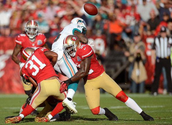San Francisco 49ers vs Miami Dolphins - NFL 2012