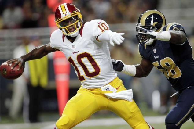 Robert Griffin III, quarterback dei Washington Redskins