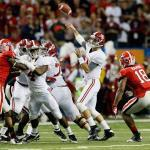 SEC championship 2012: Alabama vs Georgia