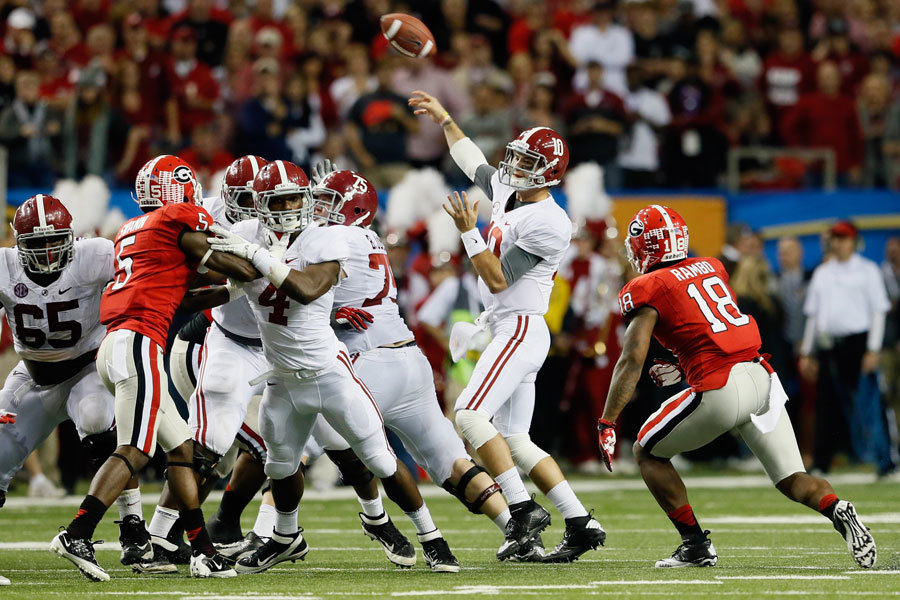 SEC championship 2012: Alabama vs Georgia