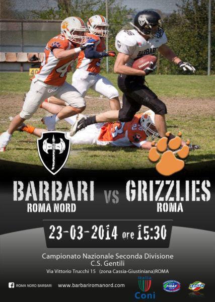 Barbari Roma Nord - Grizzlies Roma
