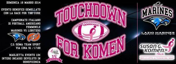 Touchdown for Komen
