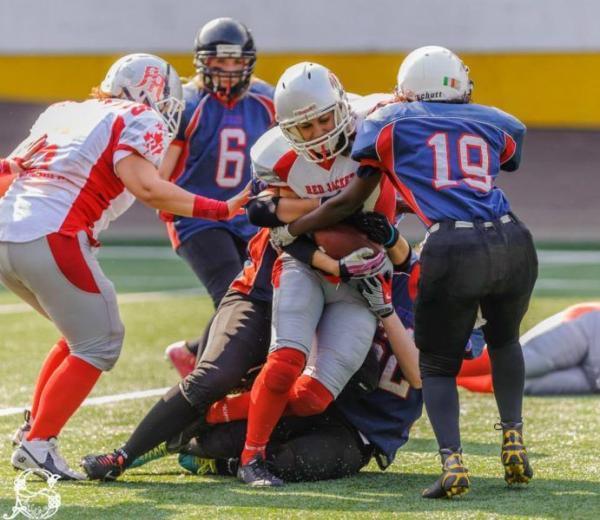 Red Rogues vs Fenici, CIFAF Week 3 - foto di Stefano Schwetz