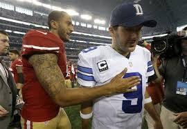 Il saluto dei due Quarterback a fine partita