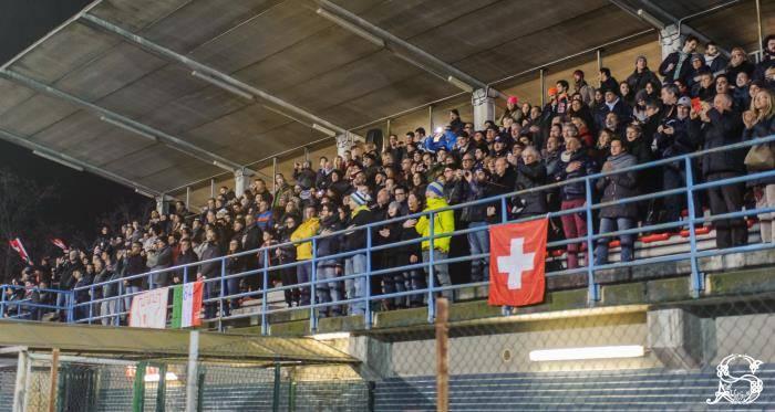 il pubblico per Italia - Svizzera