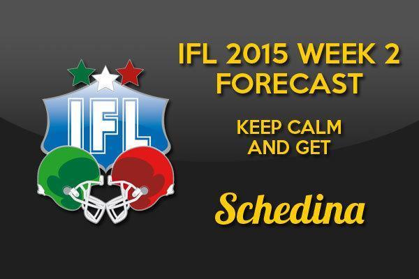 schedina IFL week 2