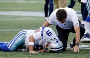 Tony Romo infortunio preseason