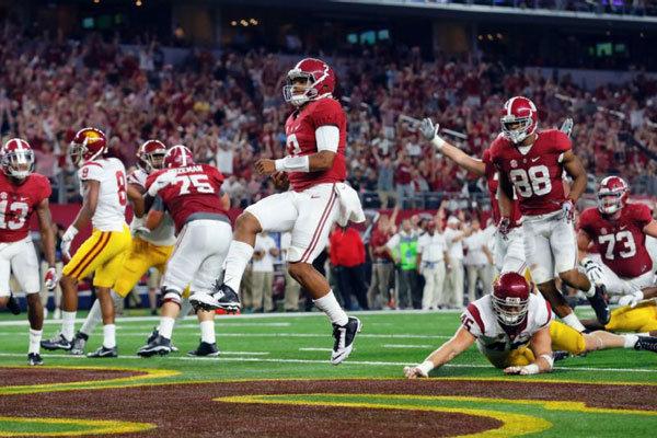 Alabama Crimson Tide vs USC Trojans NCAA 2016 week 1