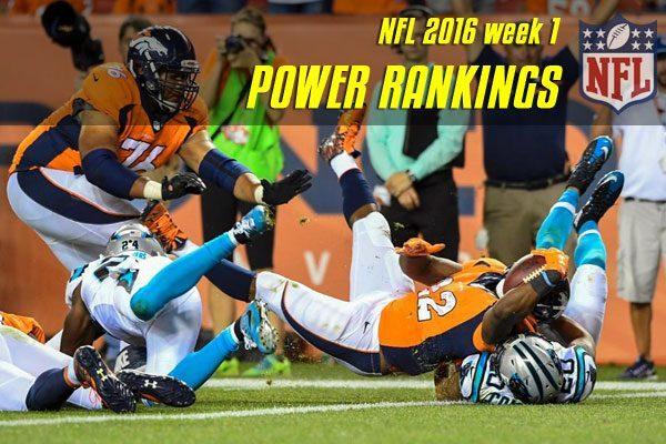 power rankings nfl 2016 wk 1