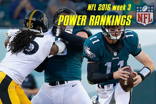 power rankings nfl 2016 wk 3