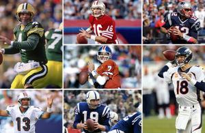 i migliori 10 quarterback nella storia della NFL