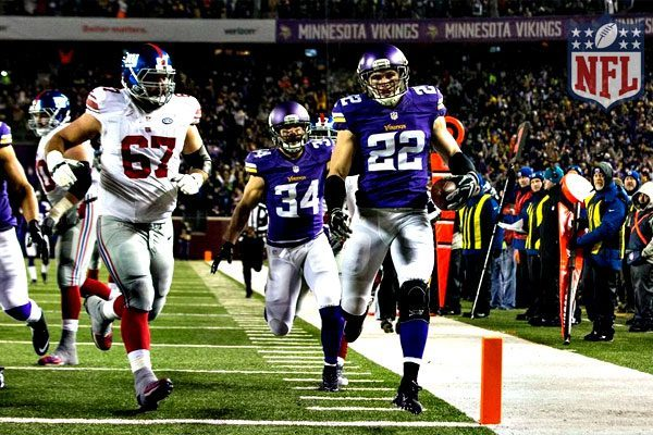 Harrison Smith in New York Giants vs Minnesota Vikings