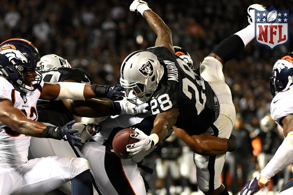 Raiders ancora vincenti, ecco i Power Rankings dopo la week 9