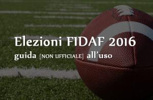 Elezioni FIDAF 2016