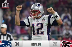 Tom Brady MVP Super Bowl 2017