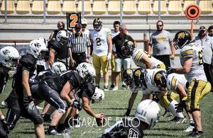 Panthers Parma Giaguari Torino IFL 2017