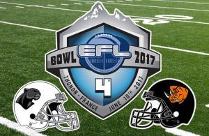 EFL Bowl IV Rhinos Milano vs Black Pantehers Thonon
