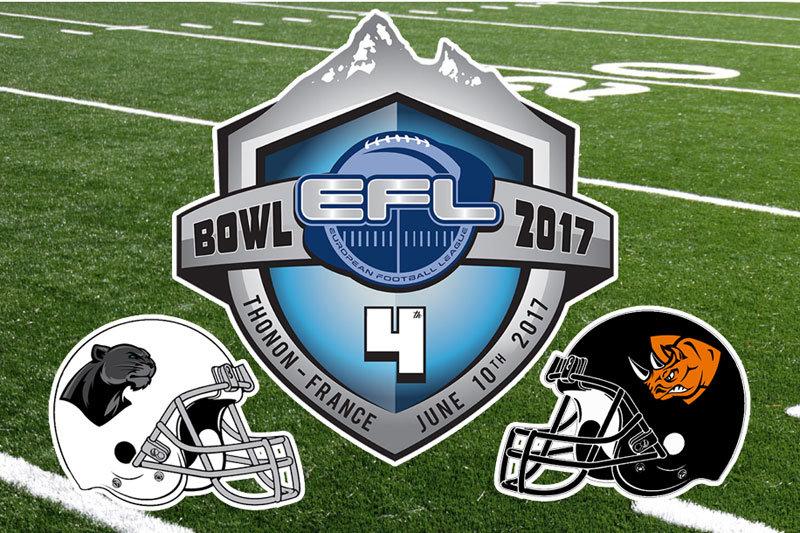 EFL Bowl IV Rhinos Milano vs Black Pantehers Thonon