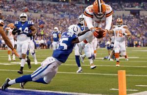 Duke Johnson Cleveland Browns vs Indianapolis Colts NFL 2017