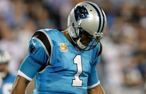 Cam Newton Panthers vs Eagles 2017
