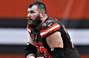 Joe Thomas Cleveland Browns offensive lineman