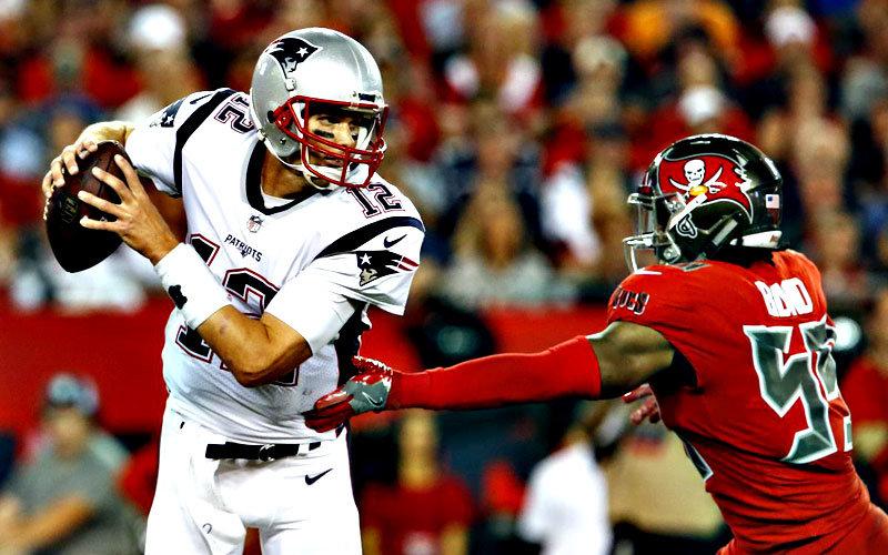 Tom Brady Patriots Buccaneers 2017