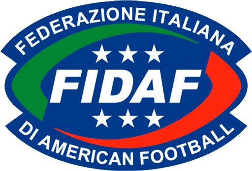 FIDAF logo Federazione Italiana di American Football