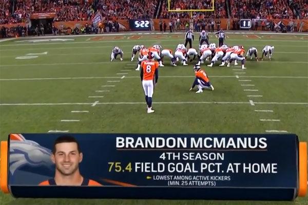Brandon McManus Broncos 2017