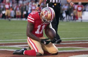 Marquise Goodwin San Francisco 49ers 2017