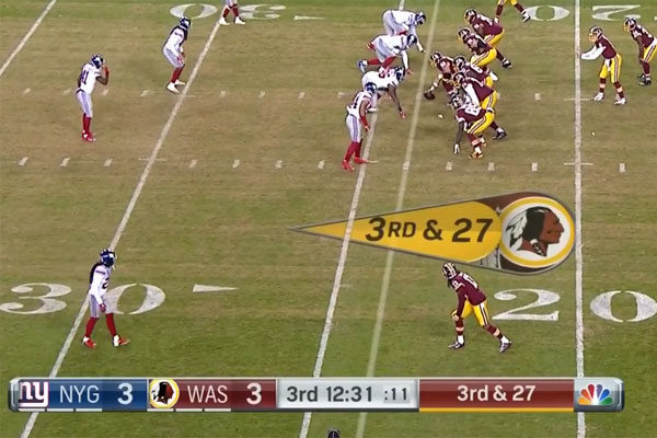 condensed Giants Redskins 2017
