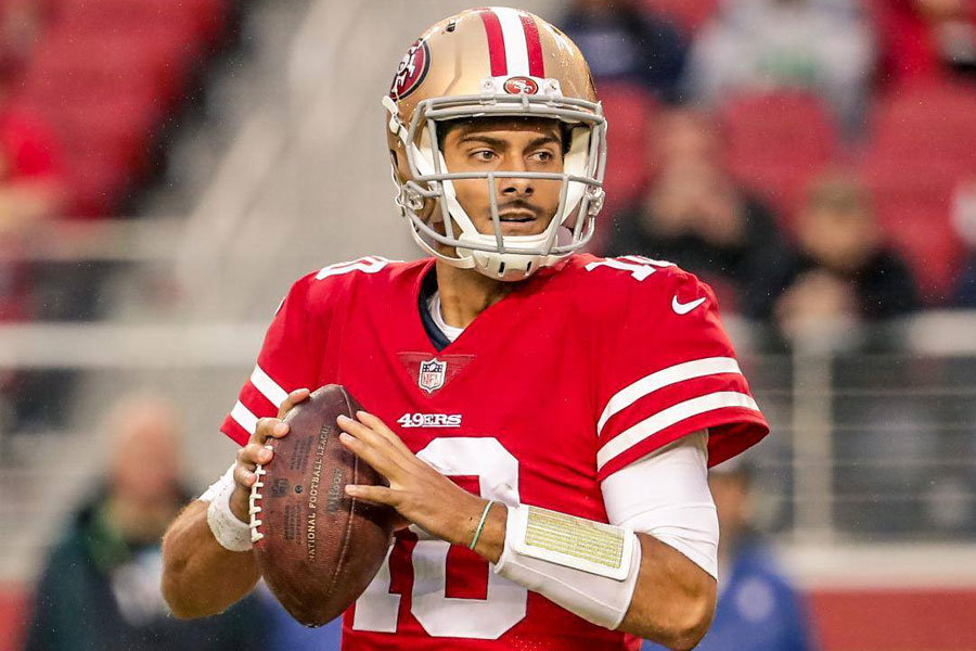 Jimmy Garoppolo SF 49ers 2017