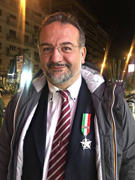 Manfredi Leone consigliere FIDAF Stella di Bronzo CONI 2017