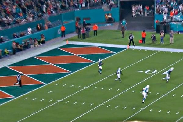 Miami Dolphins Stadium vs Patriots 2017 week 14