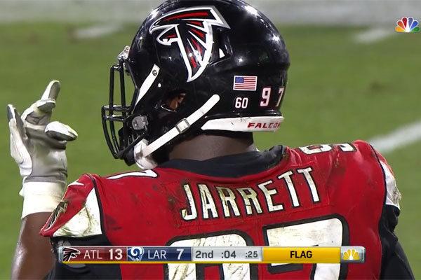 Jarrett Falcons Rams wcg 2018