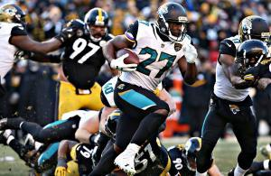 Leonard Fournette Jaguars vs Steelers 2018