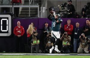 Nick Foles touchdown reception