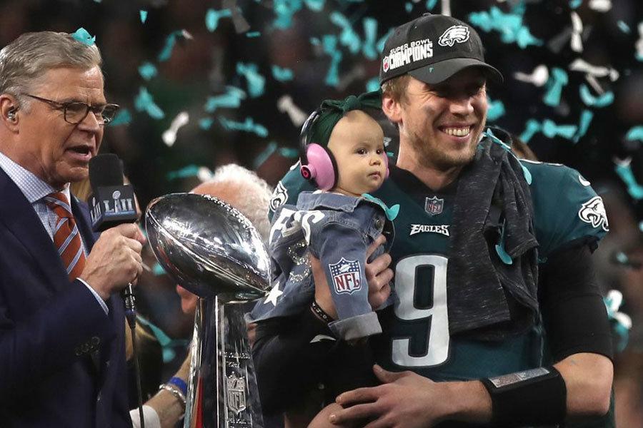 Nick Foles MVP Super Bowl LII
