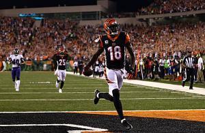 AJ Green touchdown Bengals Ravens 2018