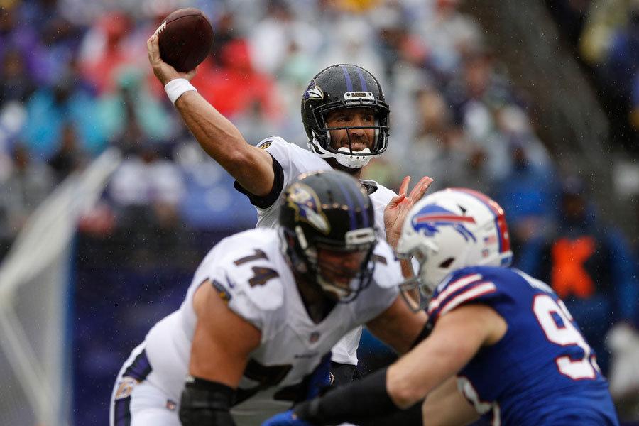Joe Flacco Ravens vs Bills