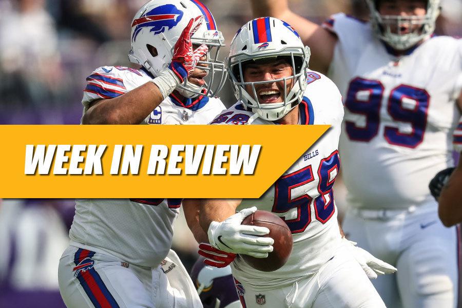 NFL week in review 3 2018
