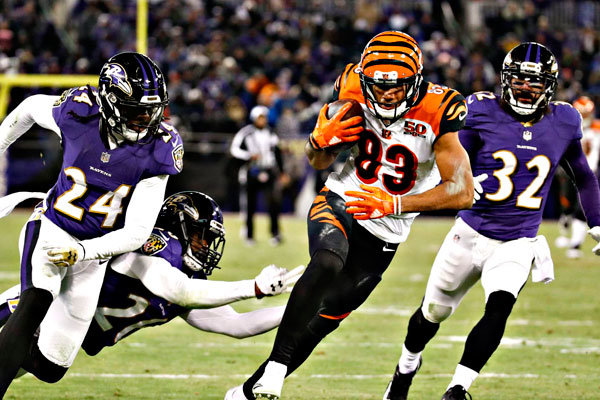 Ravens vs Bengals TNF 2018 preview
