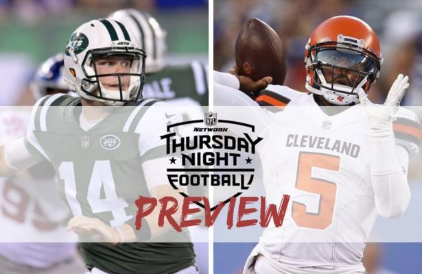 jets browns TNF preview 2018