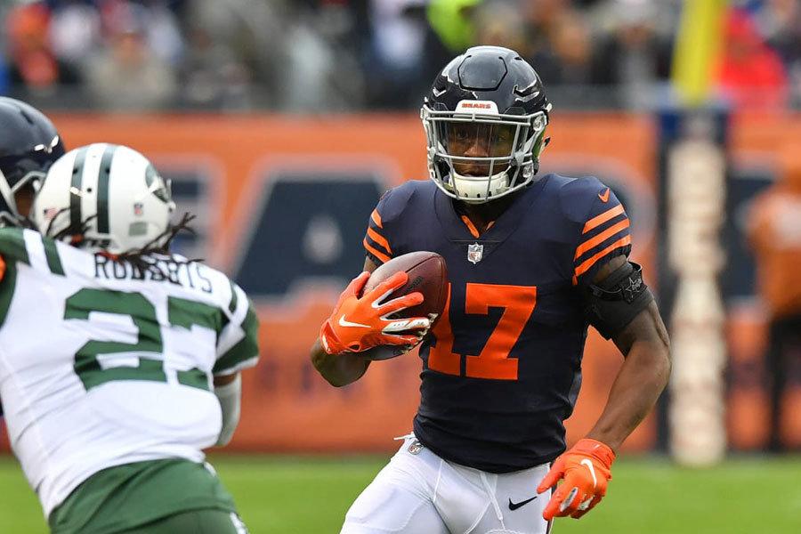 Anthony Miller Bears vs Jets 2018
