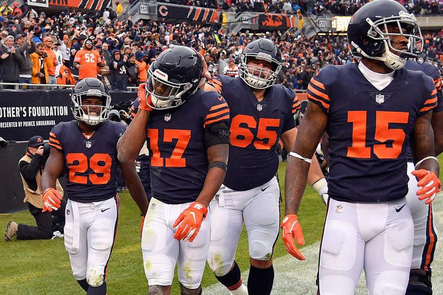 Bears vs Jets NFL 2018 endgame