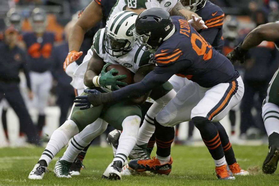 Floyd Bears vs Jets NFL 2018