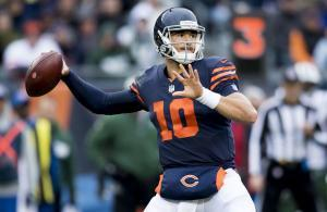 Mitchell Trubisky Bears vs Jets 2018