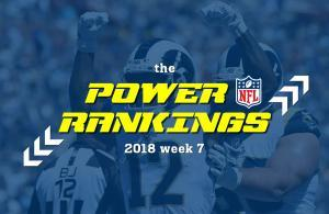 NFL 2018 power rankings 7